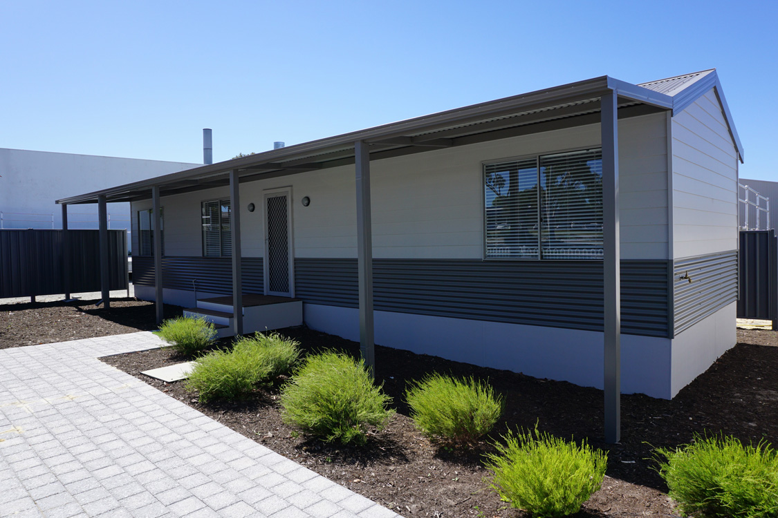 Clifton 2x1 display up for sale modular homes wa for Modular granny flats